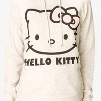 Heathered Hello Kitty® Hoodie | FOREVER 21 - 2037806405
