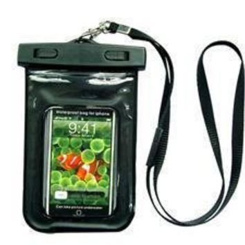 Amazon.com: GSI Cool Sealed Waterproof Bag With Necklace Strap for Underwater Swimming/Sports/Surfing/Skiing/Fishing, Protects Apple iPhone, iPod, MP3 Players, Mobile Phones and Smaller Digital Cameras - Unique Floating Design: Electronics
