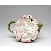 Fine Porcelain Carnation Teapot: Amazon.com: Home & Kitchen