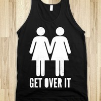 Get Over It (ladies) (tank) - Girly