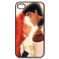 Custombox The Little Mermaid iphone 4/4s Case Plastic Hard Phone case-iPhone 4-DF00323