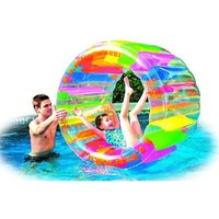 "Kid's Inflatable Water Wheel Swimming Pool Toy (49"" X 33"")"