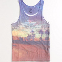 On The Byas Palm Sunset Tank at PacSun.com