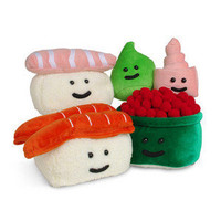 ThinkGeek :: Plush Sushi