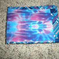 Tye dye/Plaid Duct Tape Wallet by sweetescape92 on Etsy