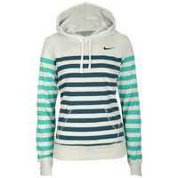 Nike Stripe Pullover Hoodie - Women&#x27;s at Foot Locker