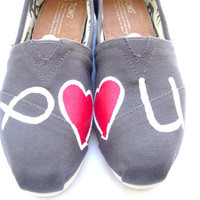 The Missionary  Jesus Loves You Custom TOMS by FruitfulFeet