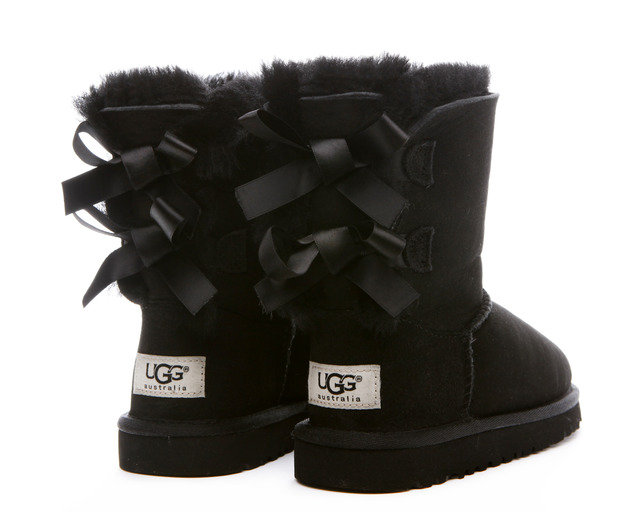 ugg bailey bow black cheap