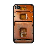 Rust Tank Tracks - IPhone 4 Case from Zazzle.com