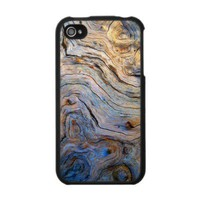 Swirled Wood  - IPhone 4 Case from Zazzle.com
