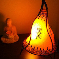 Moroccan Henna Table Lamps,Antique table lamps,Exotic lamps