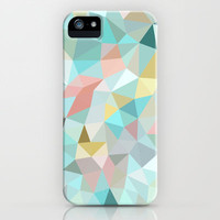 Pastel Tris iPhone Case by Beth Thompson