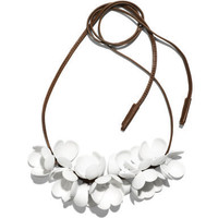 flower necklace Detail | H&M US