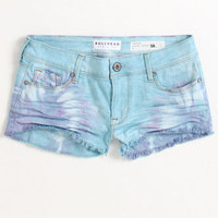 Bullhead Ice Cream Tie Dye Fray Shorts at PacSun.com