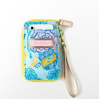 Lilly Pulitzer - Carded ID Wristlet- Alpha Xi Delta