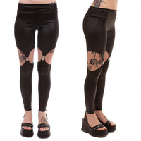 Heart Throb Garter Leggings