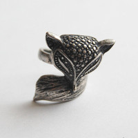 Fox Ring by Unexpected Expectancy &amp;middot; Storenvy