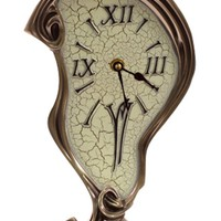Art Nouveau Decor | Melting Clock - 8395