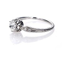 Leigh Jay Nacht Inc. - Replica Belle Epoque Engagement Ring - 2307-03