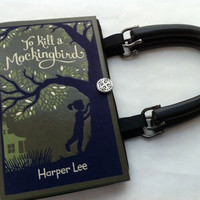 To Kill A Mockingbird Book Purse  CHOOSE YOUR by NovelCreations
