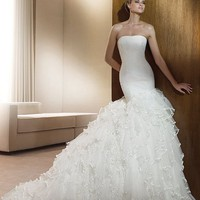 Cheap Pronovias Wedding Dresses - Style Fina - Only USD $335.20