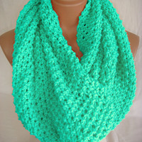 Mint scarf  by Arzu's Style