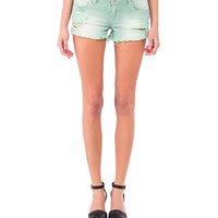Rail Road Distressed Shorts - 2020AVE