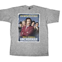 Anchorman Poster T-Shirt