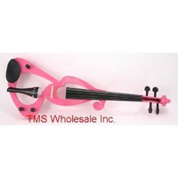 Amazon.com: New 4/4 Pink Silent Electric Violin Very Nice Sound: Musical Instruments