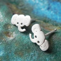Really Tiny Elephant Studs