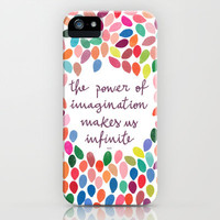 Imagination [Collaboration with Garima Dhawan] iPhone Case by Galaxy Eyes | Society6