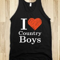 I Love Country Boys - Country Apparel