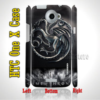 Game Of Thrones HTC One X Case Cover