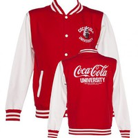 Men's Coca-Cola University Varsity Jacket : TruffleShuffle.com