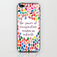 Imagination [Collaboration with Garima Dhawan] iPhone &amp; iPod Skin by Galaxy Eyes | Society6
