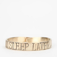 Urban Outfitters - Keely Smith Designs Live Now Bangle Bracelet