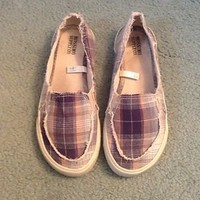 Missoni Shoes / Slip On Sneakers Size 6 Woman&#x27;s Great Condition Plaid Color
