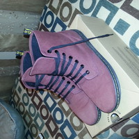 Cherry Dr. Martens