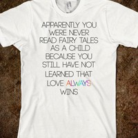 Love Always Wins LGBT Shirts