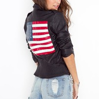Americana Moto Jacket in Clothes at Nasty Gal