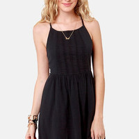 Roxy Perfect Days Black Sundress