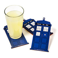 Doctor Who TARDIS Coasters