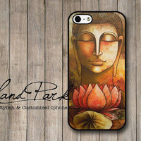 Buddha Lotus iPhone 5 Case, iPhone Case, Case for iPhone 5, iPhone 5 Cover, iPhone Hard Case