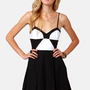 BB Dakota Gable Black and White Dress