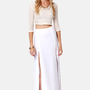 BB Dakota McKinley Ivory Maxi Skirt