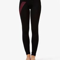 Neon Stripe Skinny Workout Pants | FOREVER 21 - 2042817169