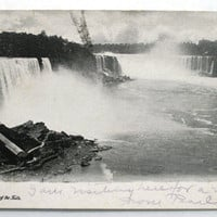 Antique Postcards Niagara Falls NY 1905 and 1906