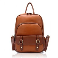 Vintage Street Style Backpack for Woman