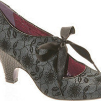 Poetic Licence Sweet Ending - Grey Suede/PU - Free Shipping & Return Shipping - Shoebuy.com