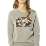 Crooks and Castles The No Love Box Floral Crewneck Sweatshirt in Heather Grey : Karmaloop.com - Global Concrete Culture